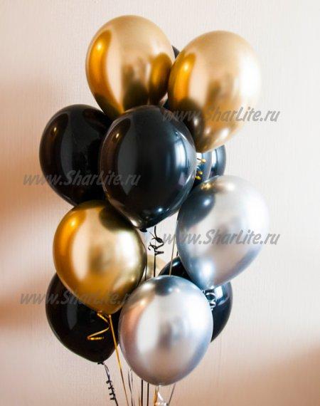 Набор шаров ХРОМ с черным