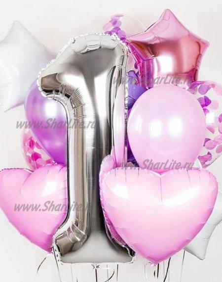 Букет из шаров  На день Рождения, вариант №2