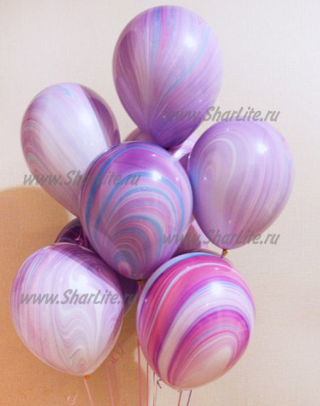 Воздушные шары Супер агаты Fashion