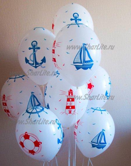 Воздушные шары с доставкой Морские