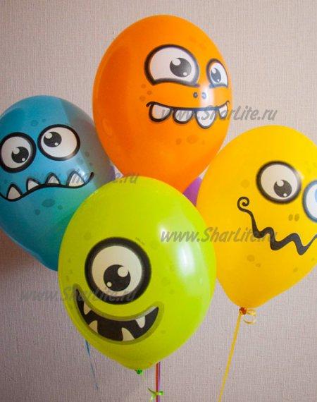 Воздушные шары Забавные монстрики