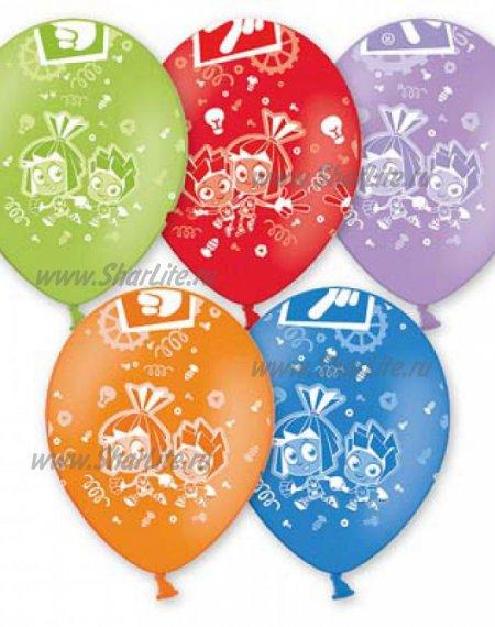 Воздушные шары Фиксики ассорти