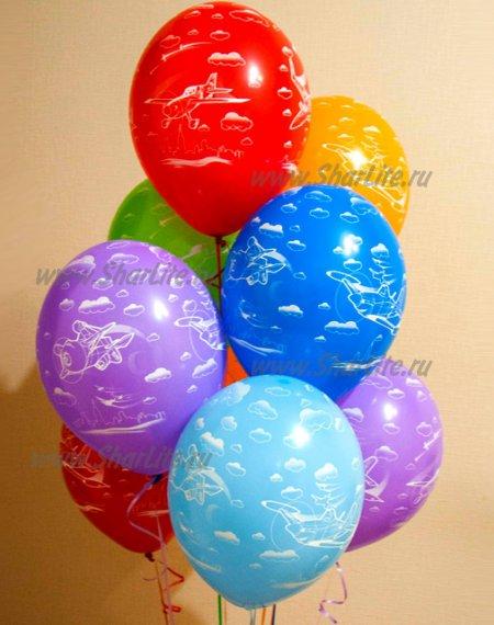 Воздушные шары Самолеты Дисней