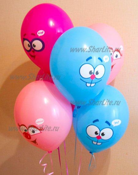 Воздушные шары Смешарики