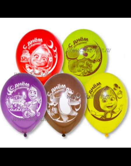 Воздушные шары На ДР Маша и медведь