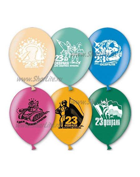 Воздушные шары с доставкой на 23 февраля
