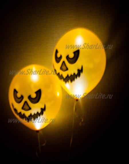 Воздушные шары С рисунком светящиеся
