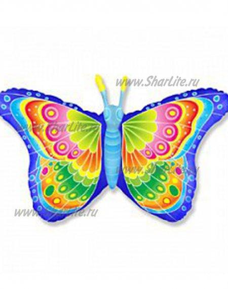 Фольгированный шар Радужная бабочка