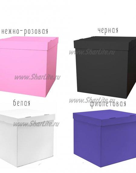 Коробка-сюрприз со светящимися шарами №2