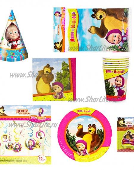 Готовые комплект Маша и Медведь (7 предметов)