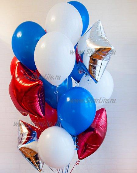Набор воздушных шаров Триколор